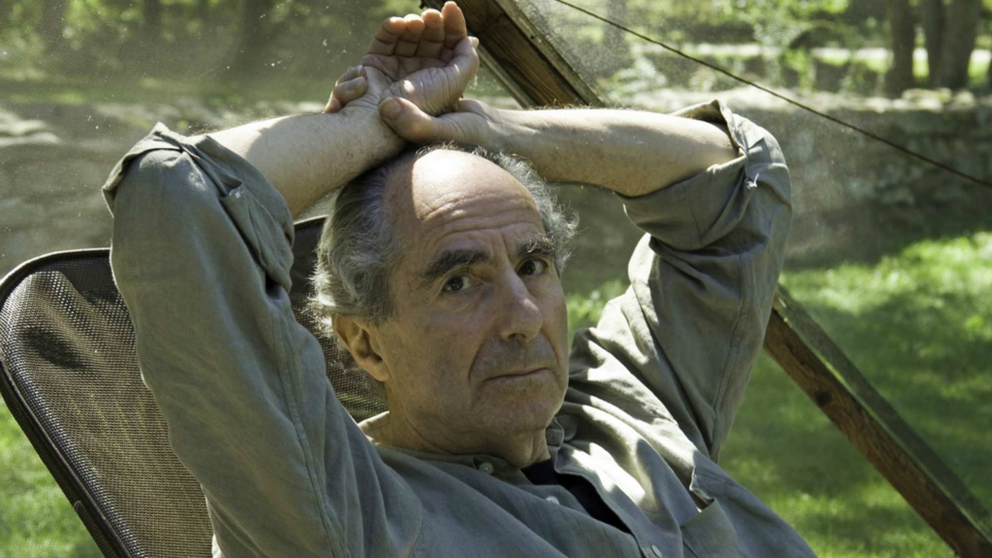 Photo: Philip Roth; Copyright: Keystone/AP/ DOUGLAS HEALEY